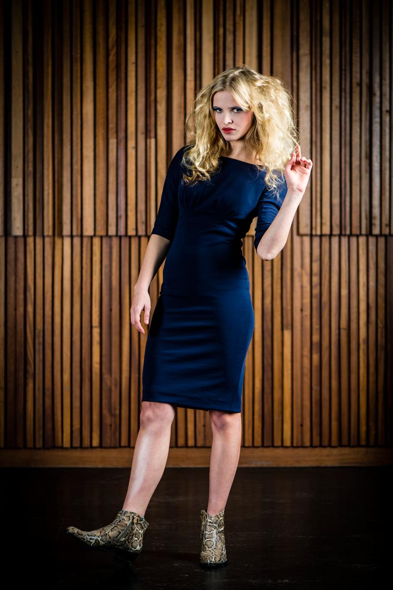 Nina-dress-navy
