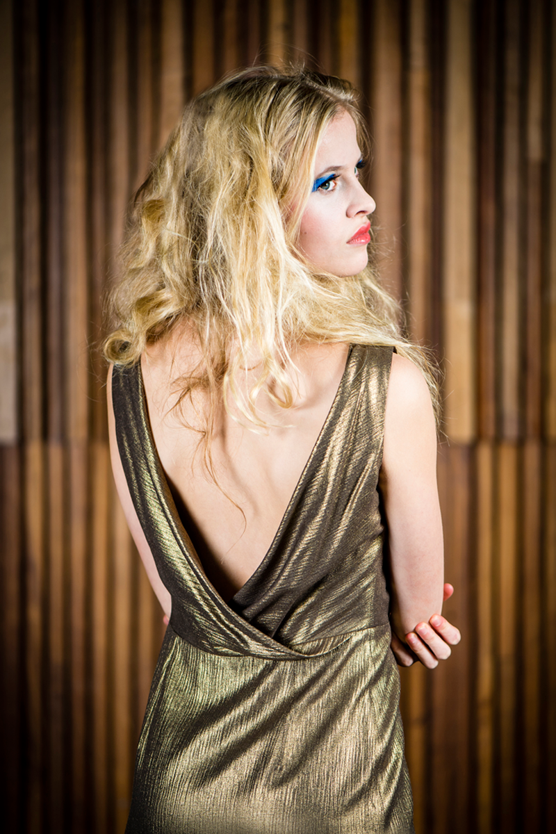Rose-dress-long-gold-back-close
