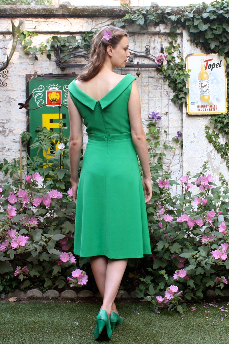Ella-green-A-line-back