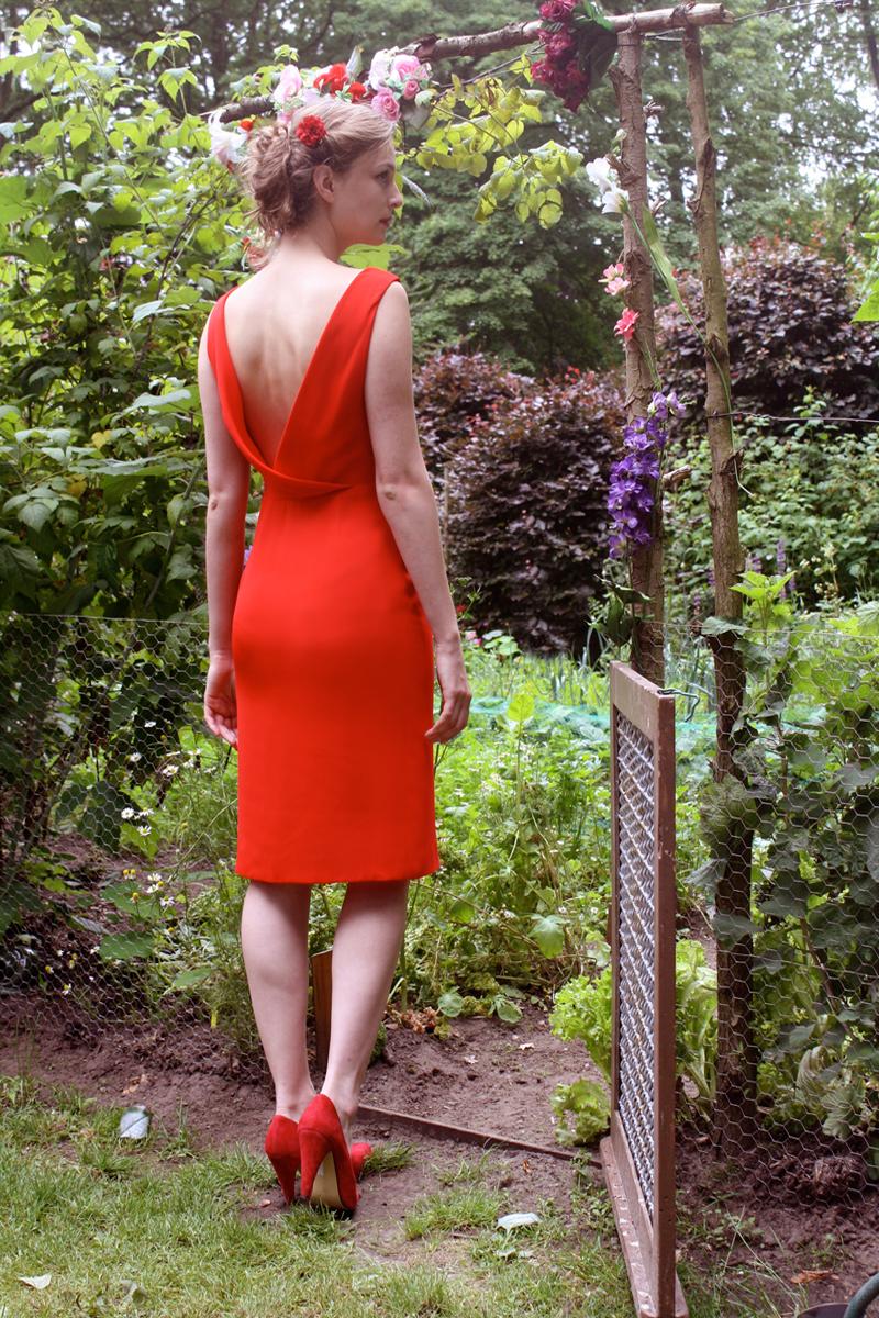 Rose-red-back