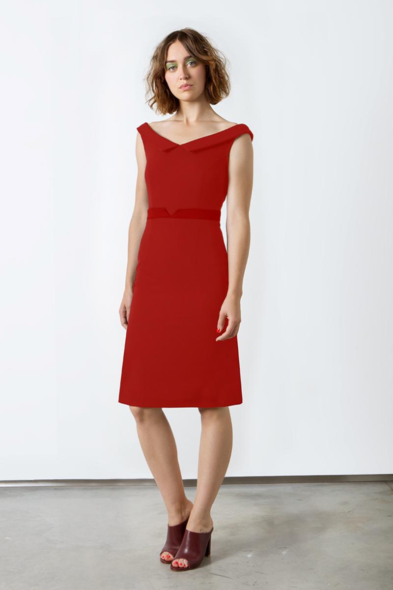 Ella-A-line-red