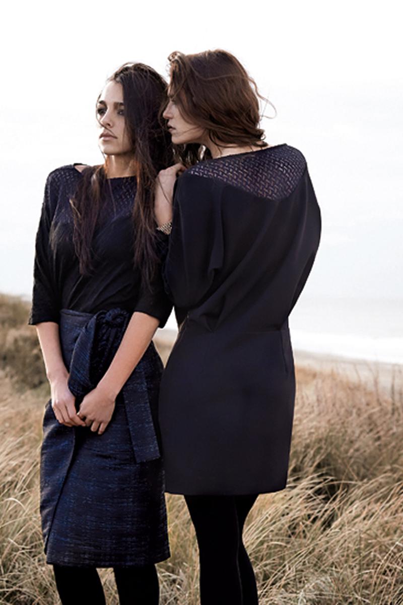 black-tessa-shirt-blue-bling-tessa-skirt-black-martha-dress-close-lowres