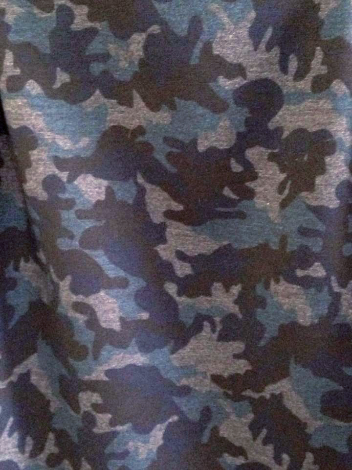 blue-camouflage-fabric