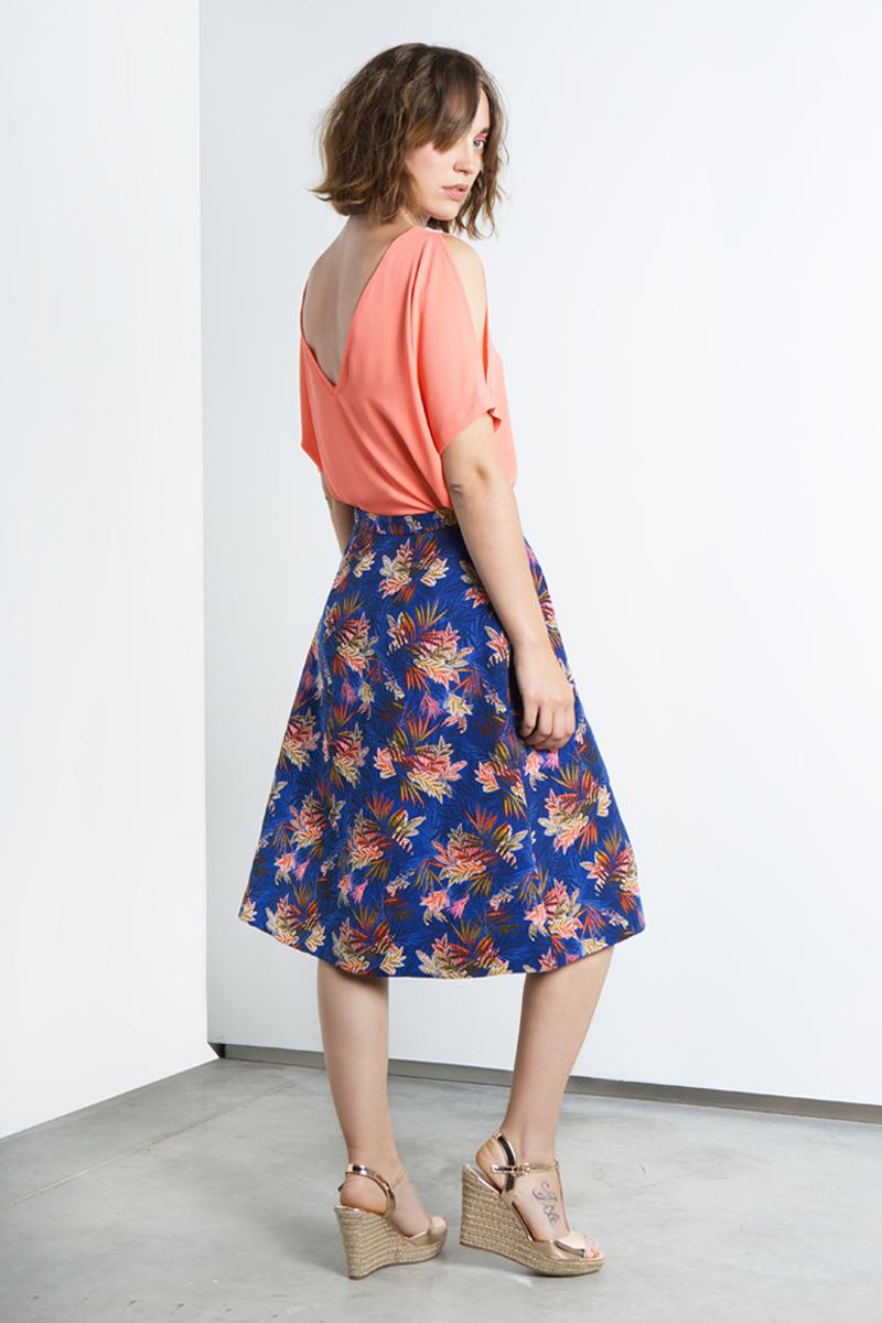 Nora-skirt-blue-flowers-back