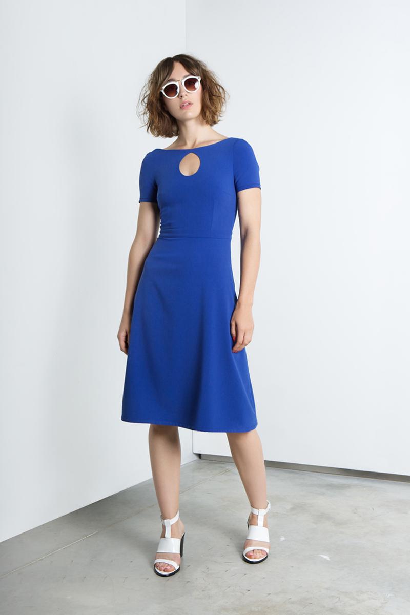 Syslvia-A-line-royal-blue