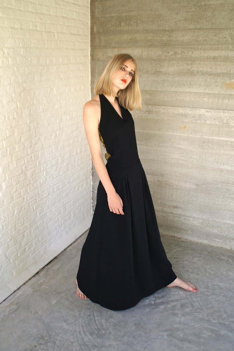 Lux-dress-black